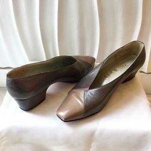 Brown Vintage Heels